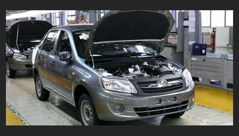 'AvtoVAZ' rūpnīcā pērn nozagtas detaļas par 239 tūkstošiem eiro