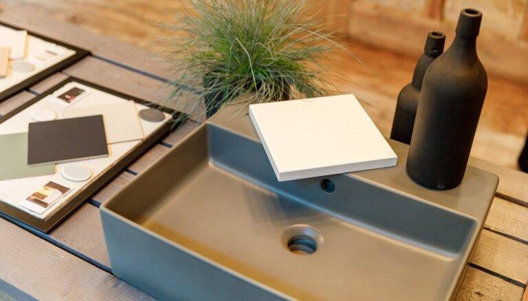 Izlietne - vannas istabas vizītkarte? Nozares eksperti iesaka ilgtspējīgu dizainu dažādu izmēru vannas istabas iekārtošanā