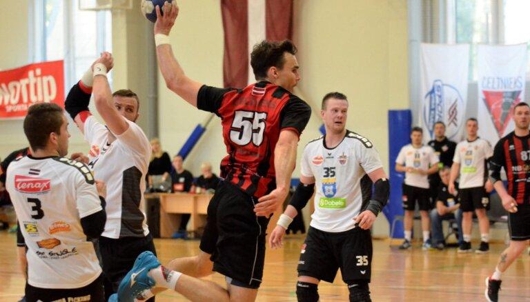 Dobeles 'Tenax' handbolisti otro gadu pēc kārtas kļūst par Latvijas čempioniem