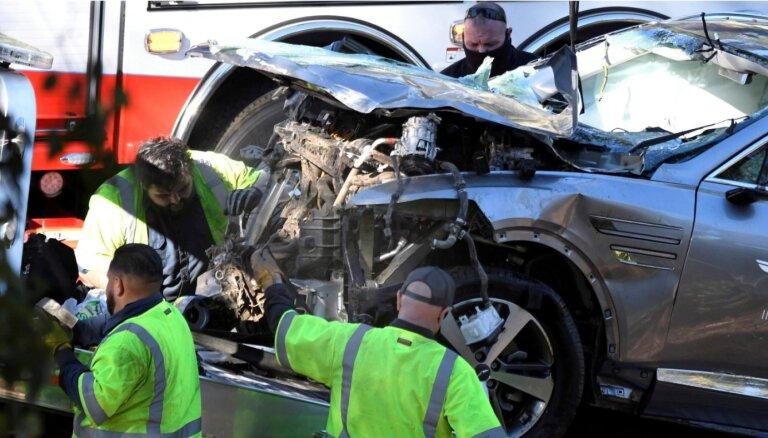 Vudss smagās avārijās laikā teju divkārt pārsniedzis atļauto ātrumu