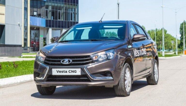 'Lada Vesta' tagad ar gāzes iekārtu jau no rūpnīcas