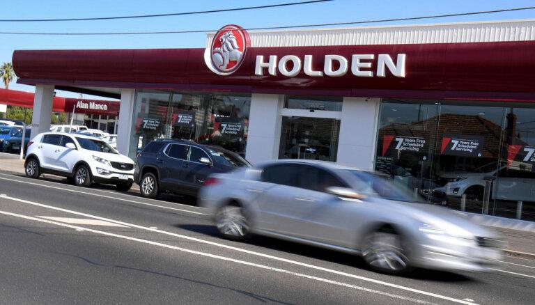 'General Motors' plāno pārtraukt darbību Austrālijā, Jaunzēlandē un Taizemē