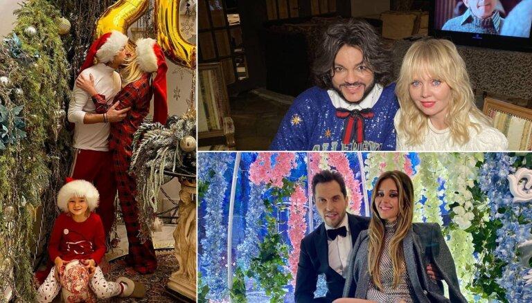 Шик и гламур: как отмечают праздники российские звезды шоубизнеса
