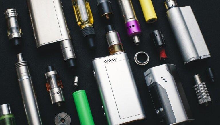 Elektronisko cigarešu nozarē dramatiski pieaug kontrabandas apjomi