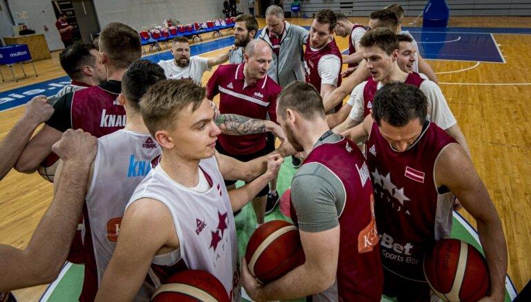 Latvijas basketbola izlase nosaukusi sastāvu spēlei ar Bosniju un Hercegovinu