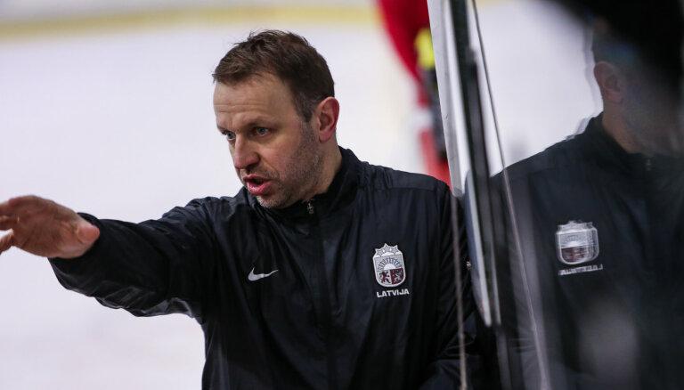 Latvijas U-20 izlase pasaules čempionātā piedalīsies ar pieciem ārvalstīs spēlējošiem hokejistiem