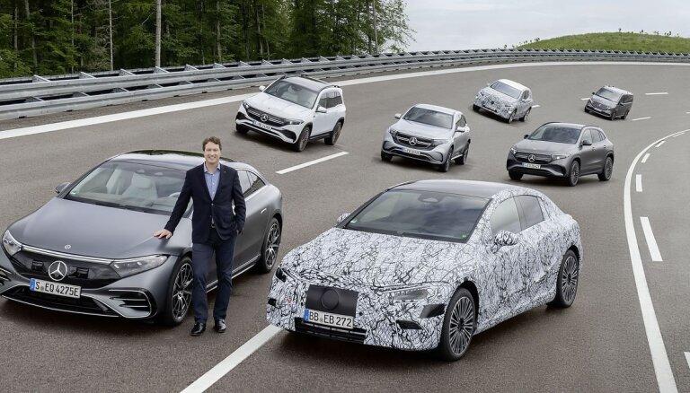 'Mercedes-Benz' plāno līdz 2030. gadam pilnībā pāriet uz elektroautomobiļu ražošanu