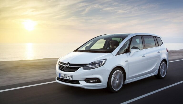 'Opel' modernizējis 'Zafira' modeli