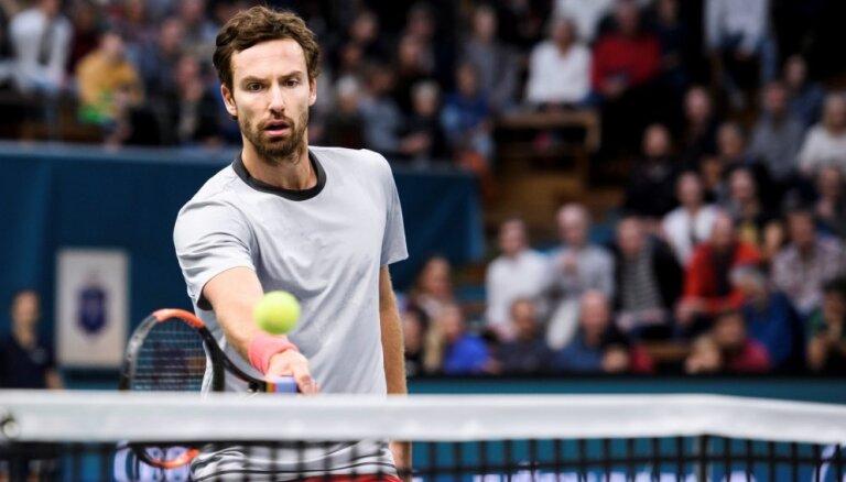 Gulbis pēdējo turnīru pirms 'French Open' uzsāks pret japāni Nišioku