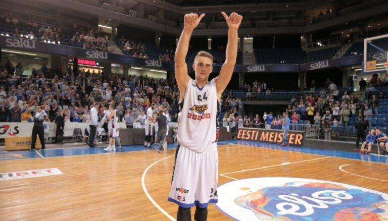 Foto: Freimanis 'Kalev/Cramo' rindās kļūst par Igaunijas čempionu