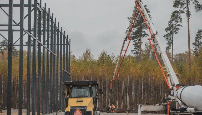 Sāk depozīta sistēmas centrālā uzskaites un šķirošanas centra metāla konstrukciju izbūvi
