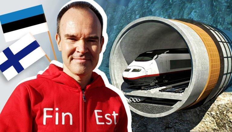 'Delfi' intervija: Tallinas–Helsinku zemūdens tunelis – realitāte vai drauds Baltijas lidostām