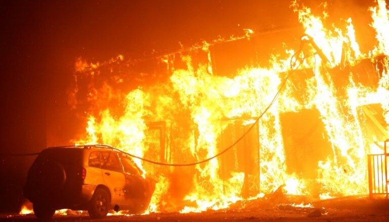 Калифорния объявлена зоной стихийного бедствия