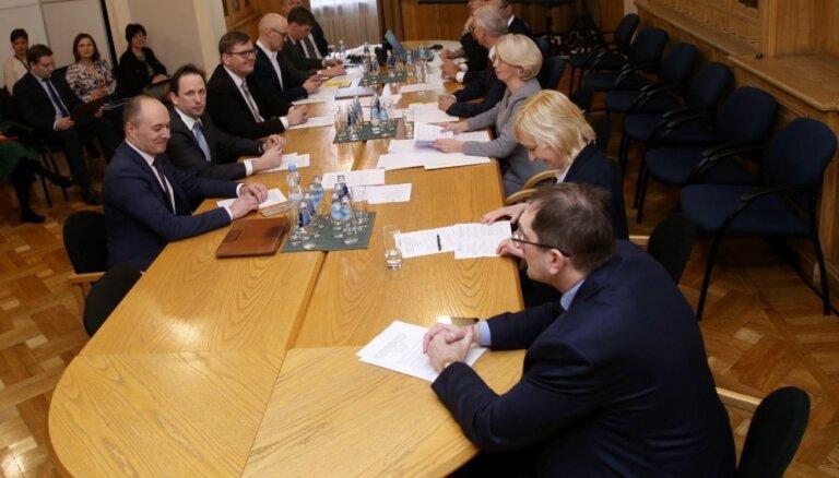 Jaunā koalīcija jau pēc trim nedēļām kopīgi diskutēs par Valsts prezidenta vēlēšanām