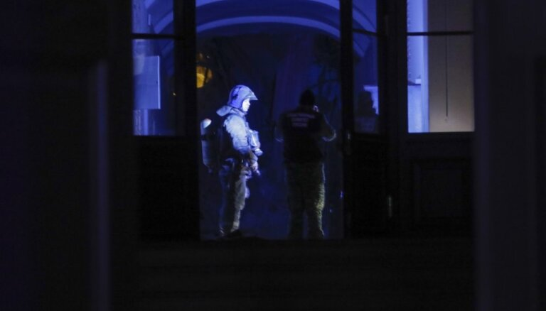 ФОТО: Названа причина обрушения в здании вуза в Петербурге