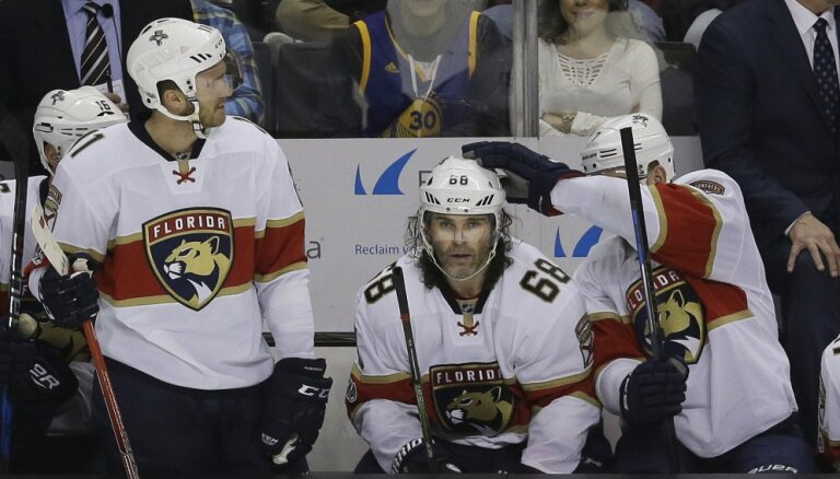 Mediji: NHL karjeras turpināšanai Jāgram jāpiekrīt algas samazināšanai