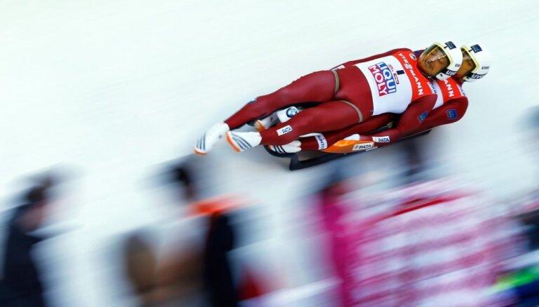 Latvijas kamaniņu izlases olimpiskā sezona: eksperimenti, nākotnes plāni un konkurentu uzmanīšana