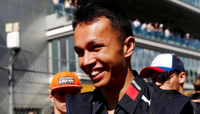 'Red Bull' otrais pilots nākamajā sezonā būs Albons