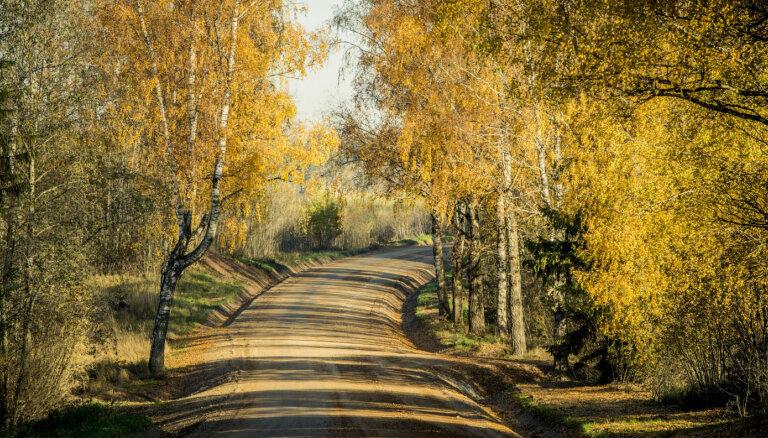 Uz valsts grants autoceļiem veic greiderēšanu