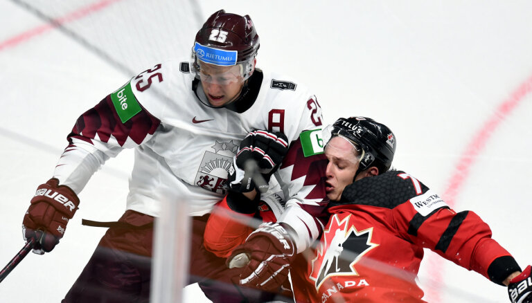 Эпизод матча Латвия — Канада попал в десятку лучших моментов турнира
