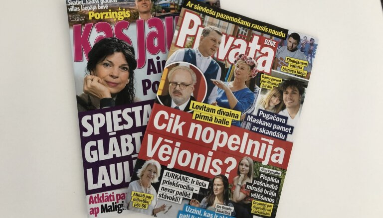Скандал на президентском балу, секс после шестидесяти и тайна наследства Малыгина: о чем пишут латышские таблоиды