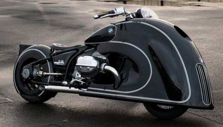 BMW tikai 10 vienībās izgatavos motociklu ar priekšdaļu retro auto stilā