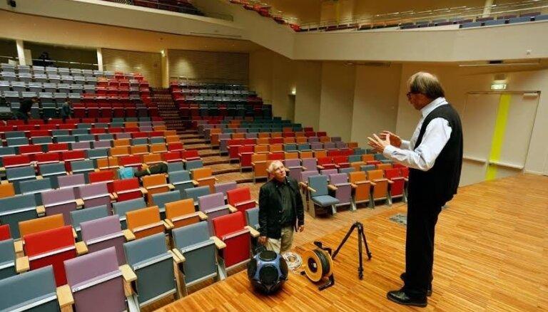 Liepājas koncertzālē sasniegta maksimālā cerētā akustiskā kvalitāte
