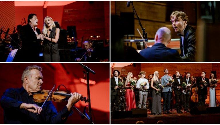 Foto: Jūrmalā izskanējis pašmāju spožāko mūziķu koncerts 'Dzimuši Latvijā'