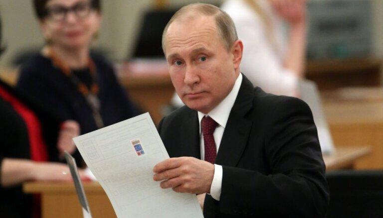 Путин, Собчак и другие кандидаты в президенты проголосовали на выборах