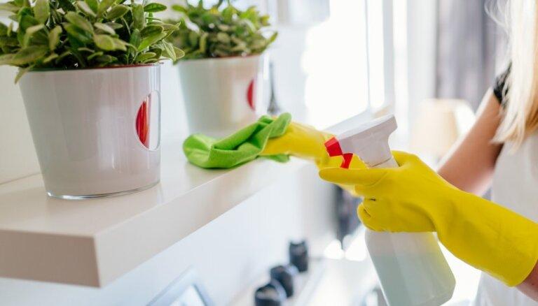 Uzkopjam mājokli! Tīrīšanas plāns visai nedēļai