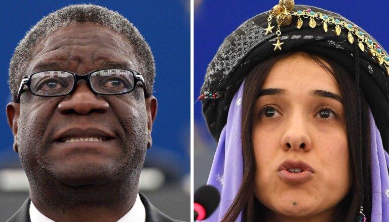 Nobela miera prēmiju piešķir karotājiem pret seksuālo vardarbību