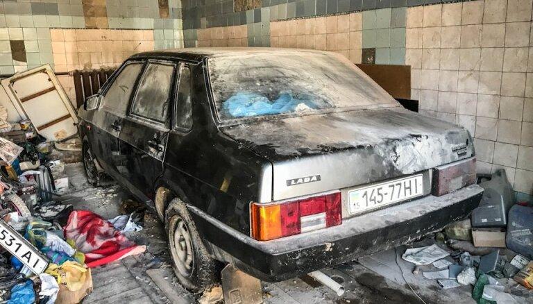 Video: Ukrainā atrasts 26 gadus garāžā nostāvējis praktiski nelietots 'eksporta' žigulis