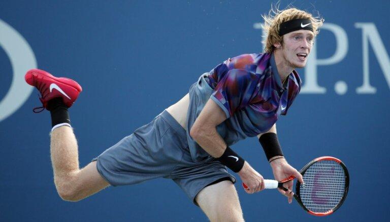 US Open: Россиянин Рублев преподнес вторую сенсацию и вышел на Надаля