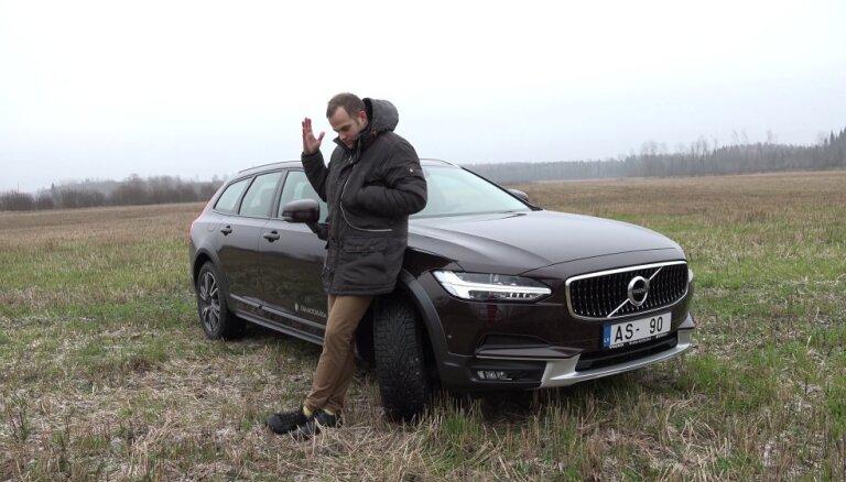 Video: Dāvis testē zviedru sapni 'Volvo V90 Cross Country'