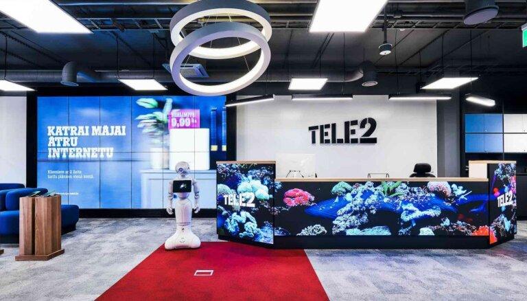 'Tele2' apgrozījums deviņos mēnešos palielinājies par 8,7%