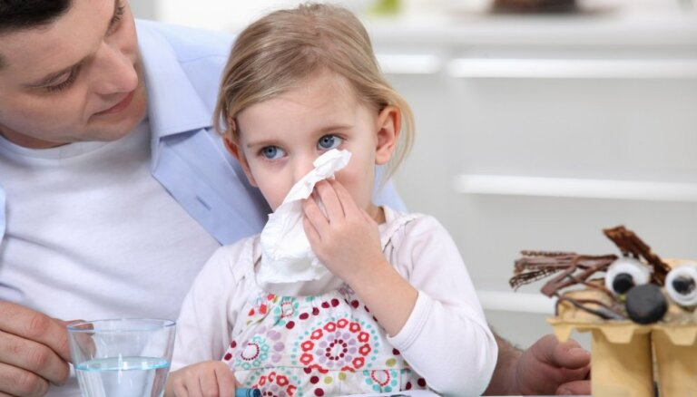 Puņķošanās laiks: četras iesnu stadijas un kā bērnam atvieglot elpošanu