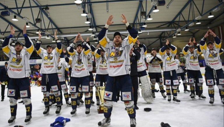 'Kurbads' hokejisti gūst graujošu uzvaru arī otrajā IIHF Kontinentālā kausa izcīņas mačā