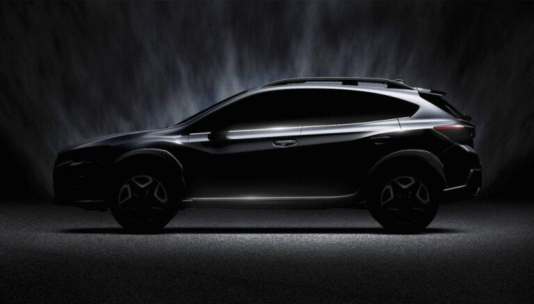 'Subaru' parādījis jaunā 'XV' apvidnieka veidolu
