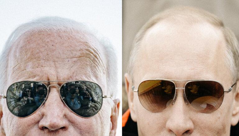 Attiecību viszemākajā punktā: ko sagaidīt no Putina–Baidena samita Ženēvā