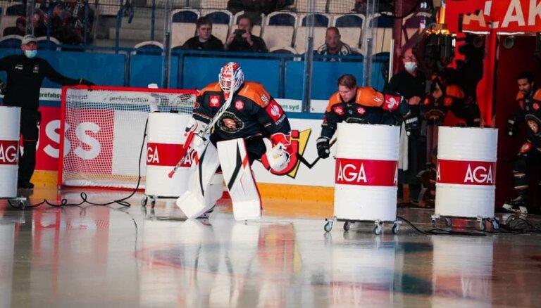 Kalniņš ar uzvaru sāk IIHF Čempionu līgas turnīru