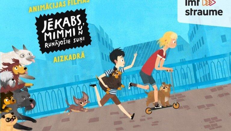 Video: Kā tapa jaunā animācijas filma 'Jēkabs, Mimmi un runājošie suņi'