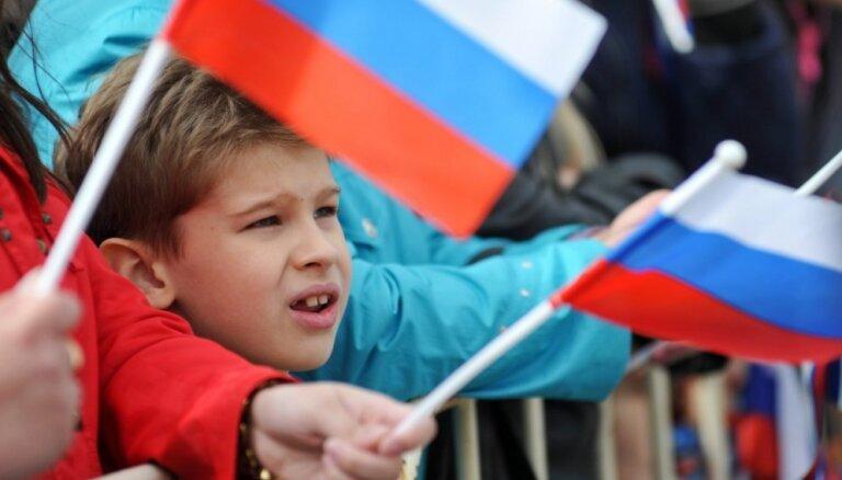 Krievijas karoga parādīšanās Phjončhanas paralimpiskajās spēlēs draud ar Krievijas sportistu atstādināšanu
