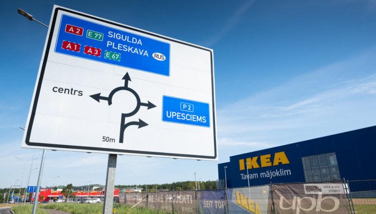 ФОТО, ВИДЕО. Рижская IKEA готовится к открытию: что внутри?