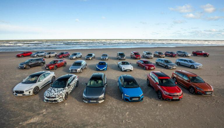 Pirmreizējā reģistrācija piecos mēnešos Latvijā veikta par 6,7% vairāk vieglo auto