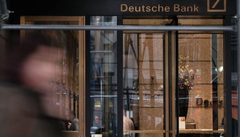 'Deutsche Bank' likvidēs 18 tūkstošus darbavietu