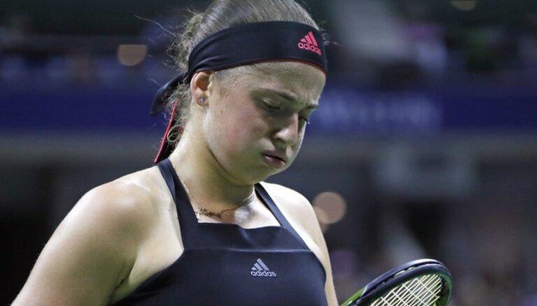 Ostapenko piedzīvo fiasko Bogotas turnīra pirmajā kārtā