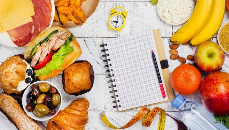 Pieci labākie uztura plāni efektīvai svara zaudēšanai