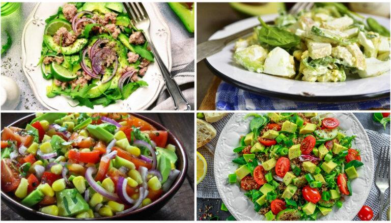 Kad gaļas vietā stājas avokado: 22 salātu receptes vasarīgām maltītēm