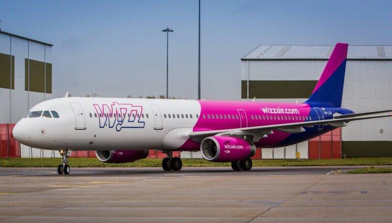 Авиакомпания Wizz Air снова выполняет рейсы из Риги