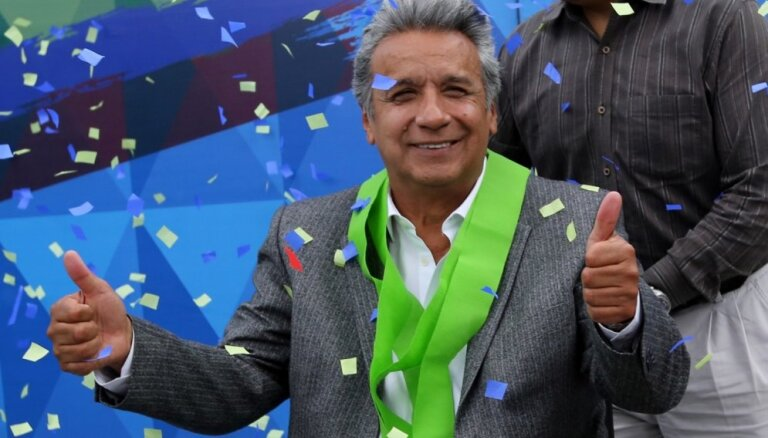 Komisija apstiprina Moreno uzvaru Ekvadoras prezidenta vēlēšanās